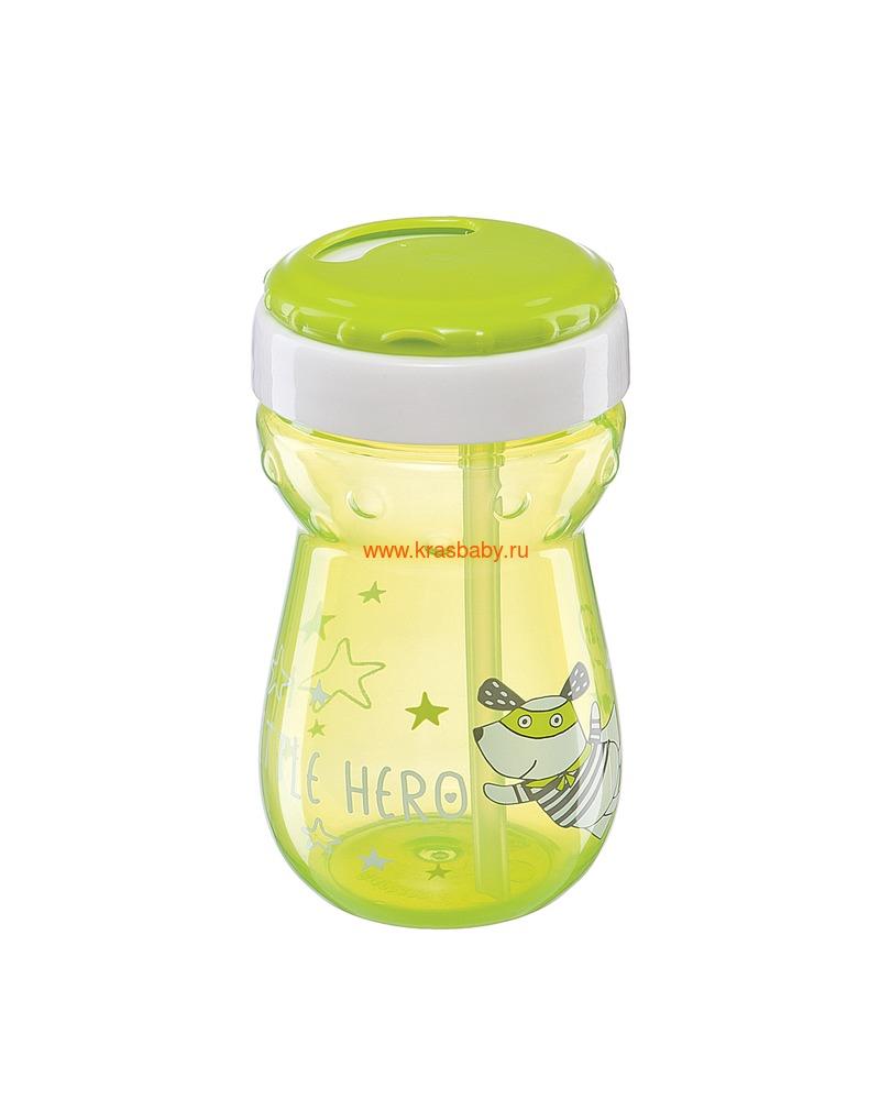 HAPPY BABY Большой поильник с трубочкой STRAW FEEDING CUP (фото, вид 5)