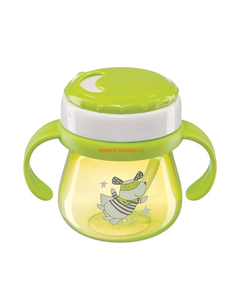 HAPPY BABY Поильник с трубочкой и ручками STRAW FEEDING CUP (фото, вид 1)