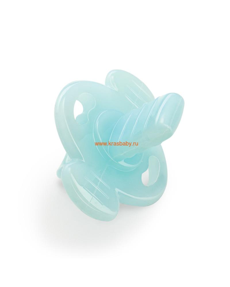 Прорезыватель HAPPY BABY SILICONE TEETHER IN CASE (силиконовый в футляре) (фото, вид 1)