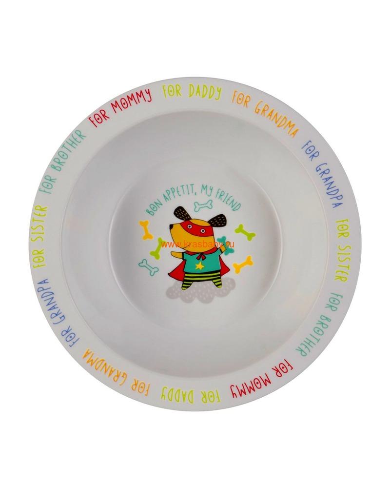 HAPPY BABY Глубокая тарелка FEEDING BOWL (фото, вид 5)