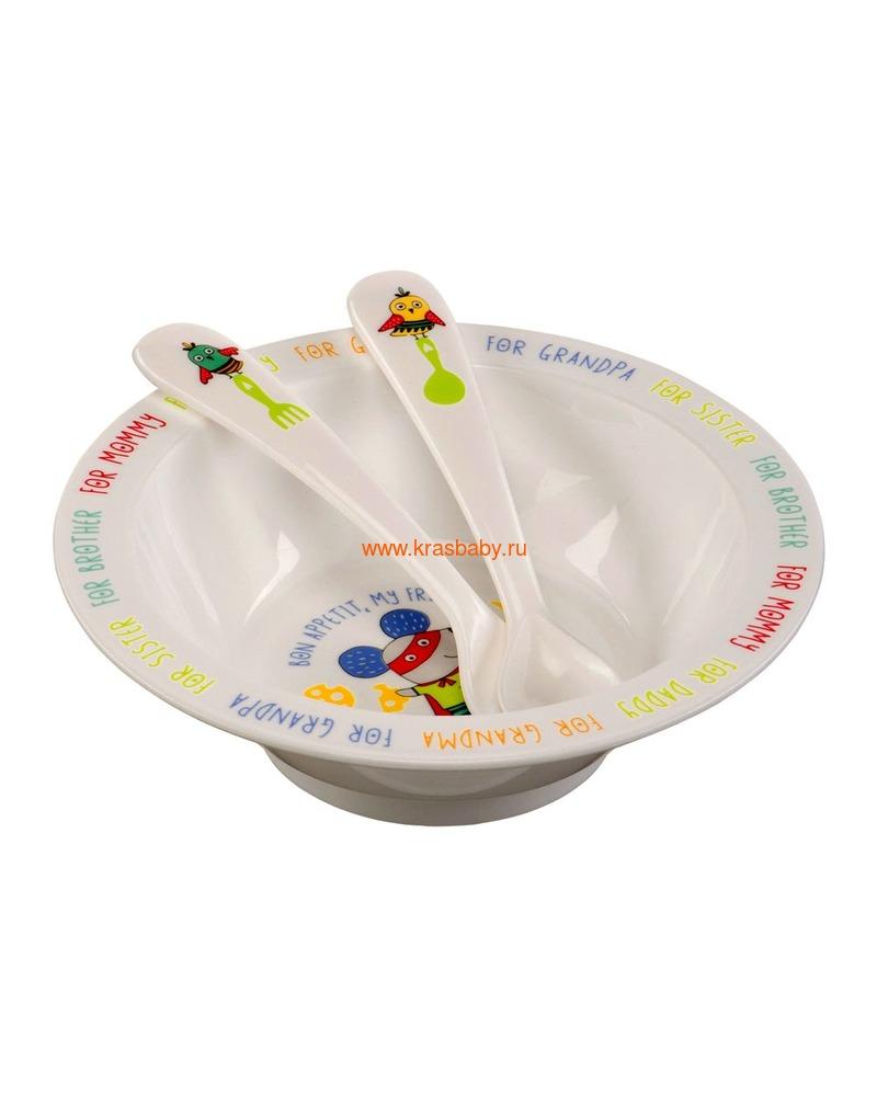 HAPPY BABY Глубокая тарелка FEEDING BOWL (фото, вид 7)