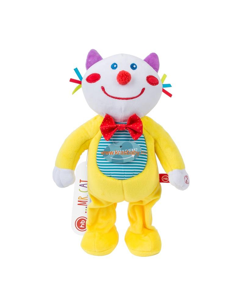 HAPPY BABY Игрушка музыкальная MR.CAT (фото, вид 1)