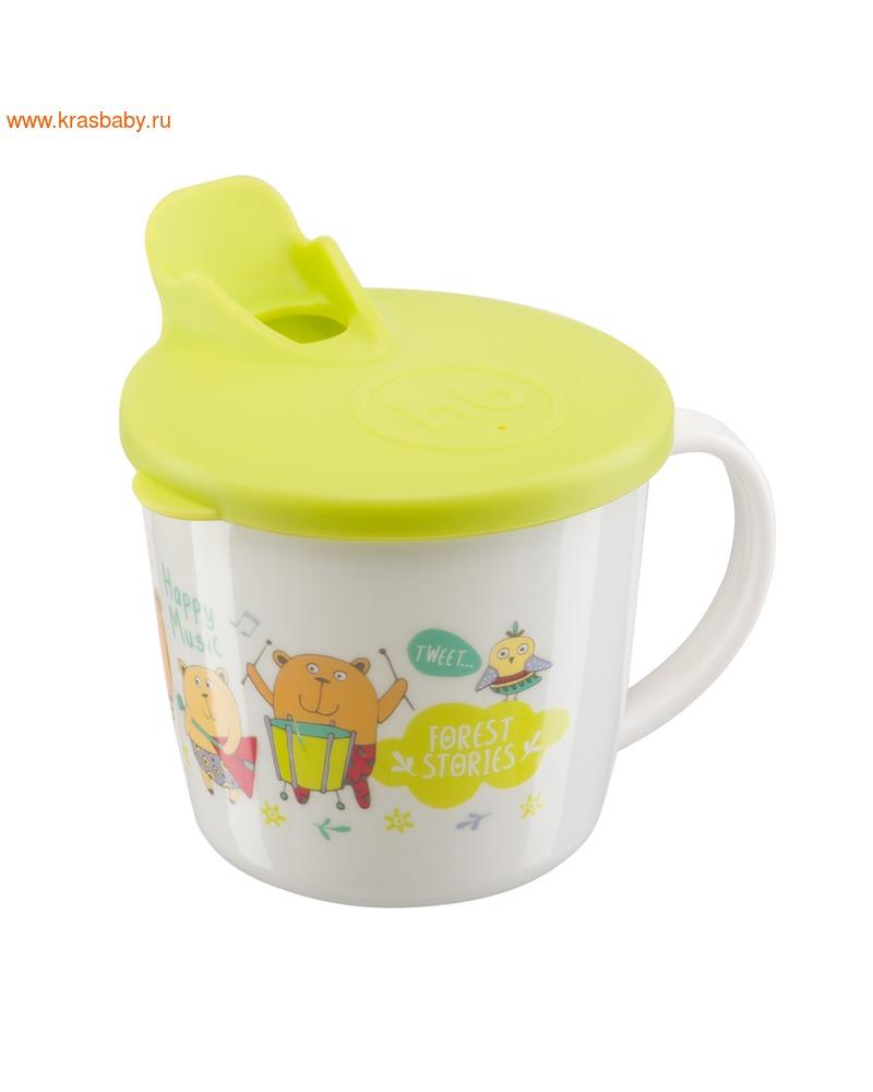 HAPPY BABY Тренировочная кружка с крышкой TRAINIG CUP (фото, вид 2)