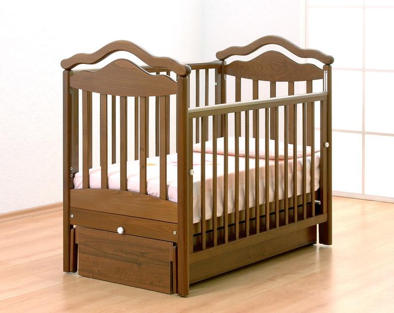 Кроватка GANDYLYAN АНЖЕЛИКА (качалка) (фото, вид 1)
