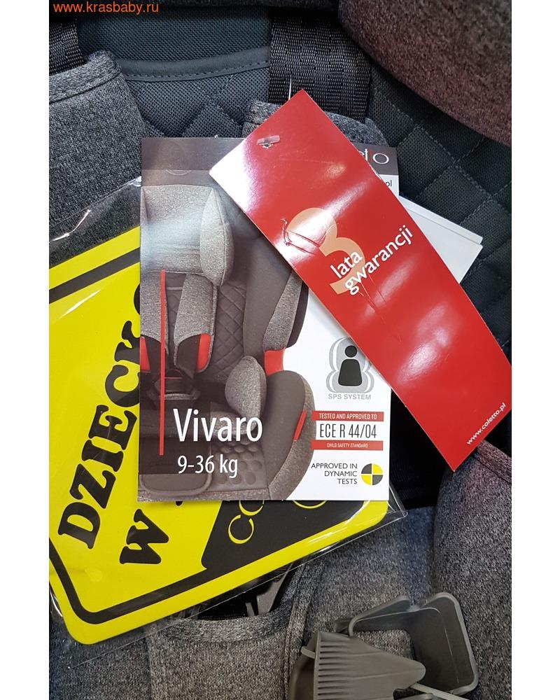 Автокресло COLETTO Vivaro IsoFix (9-36 кг) (фото, вид 23)