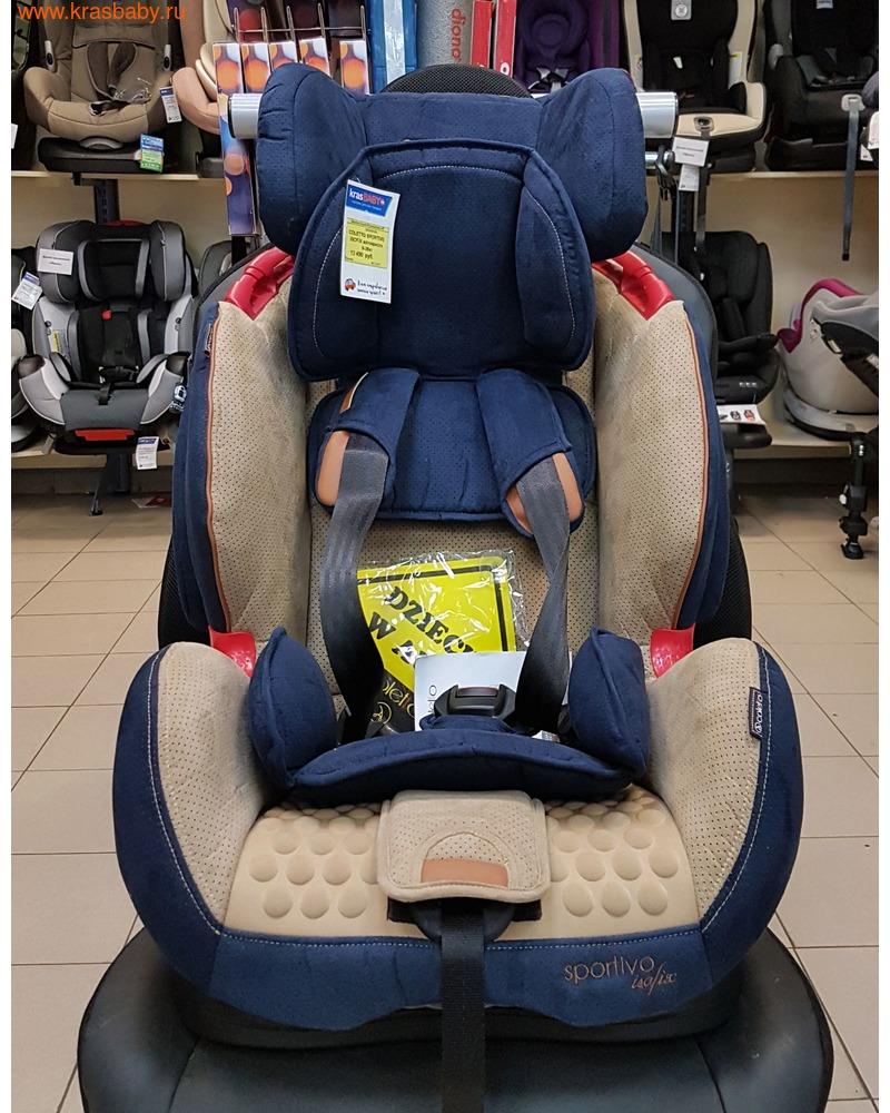 Автокресло COLETTO SPORTIVO IsoFix (9-36 кг) (фото, вид 14)