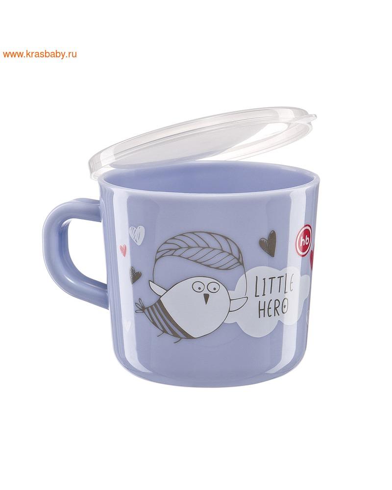 HAPPY BABY Кружка с ручкой и крышкой TRAINING CUP (фото, вид 5)