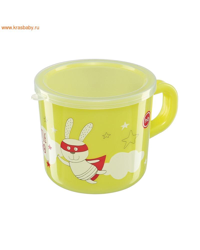 HAPPY BABY Кружка с ручкой и крышкой TRAINING CUP (фото, вид 6)