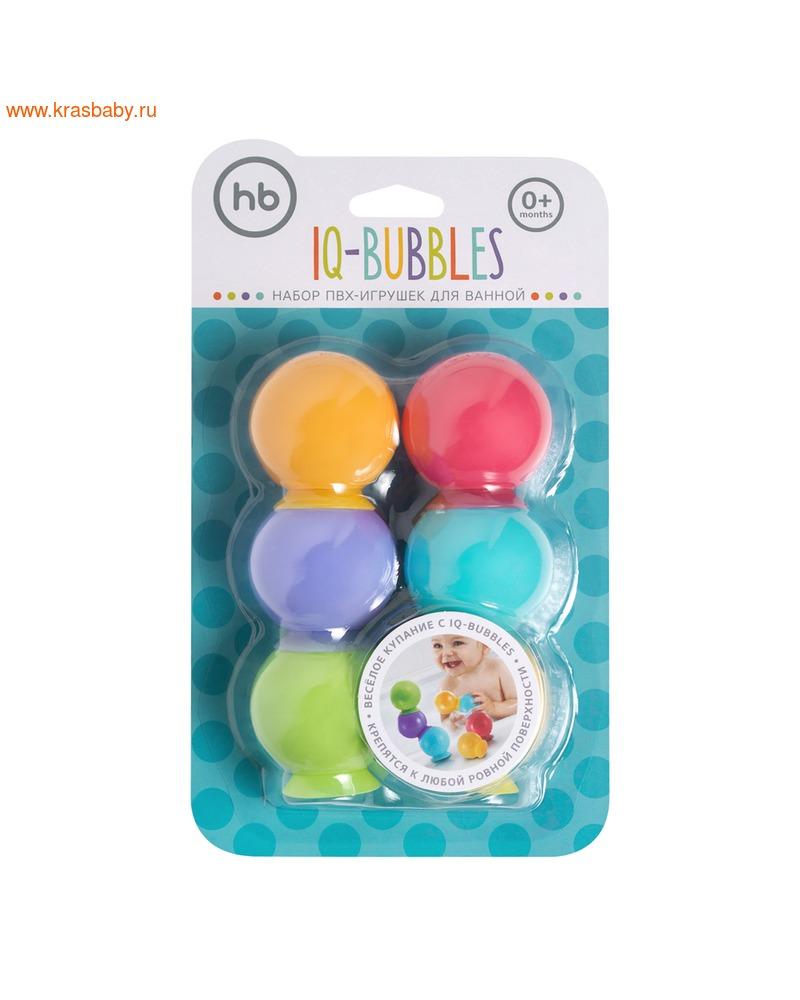 HAPPY BABY Набор игрушек для ванной IQBUBBLES (фото, вид 3)