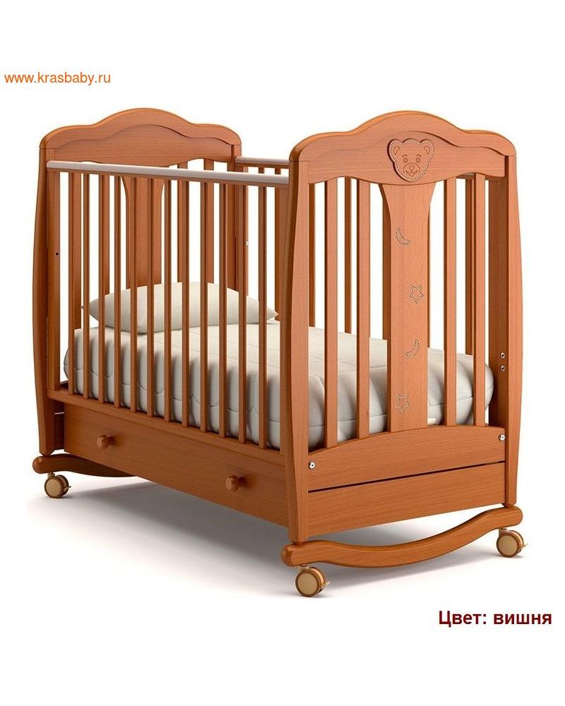 Кроватка GANDYLYAN МИШЕЛЬ (качалка) (фото, вид 2)