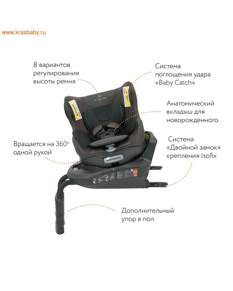 Автокресло CARMATE KURUTTO 3i (0-18 кг) isoFix поворотное (фото, вид 7)