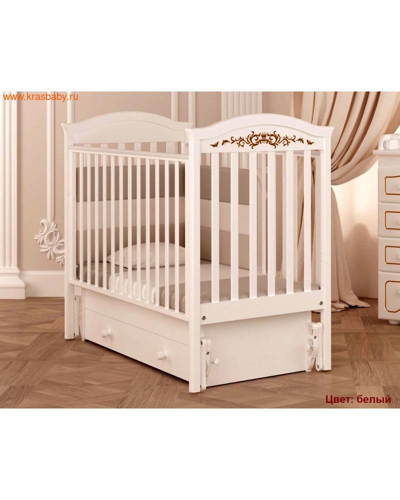 Кроватка GANDYLYAN Даниэль Люкс (качалка) (фото, вид 8)