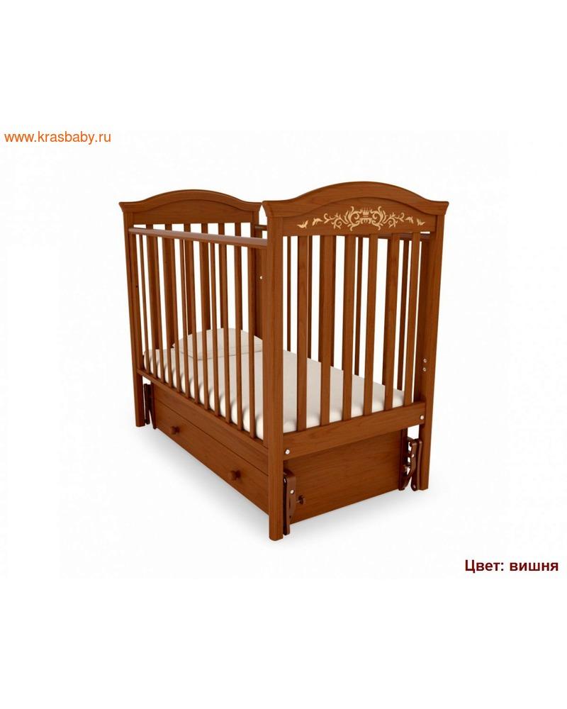 Кроватка GANDYLYAN Даниэль Люкс (качалка) (фото, вид 10)