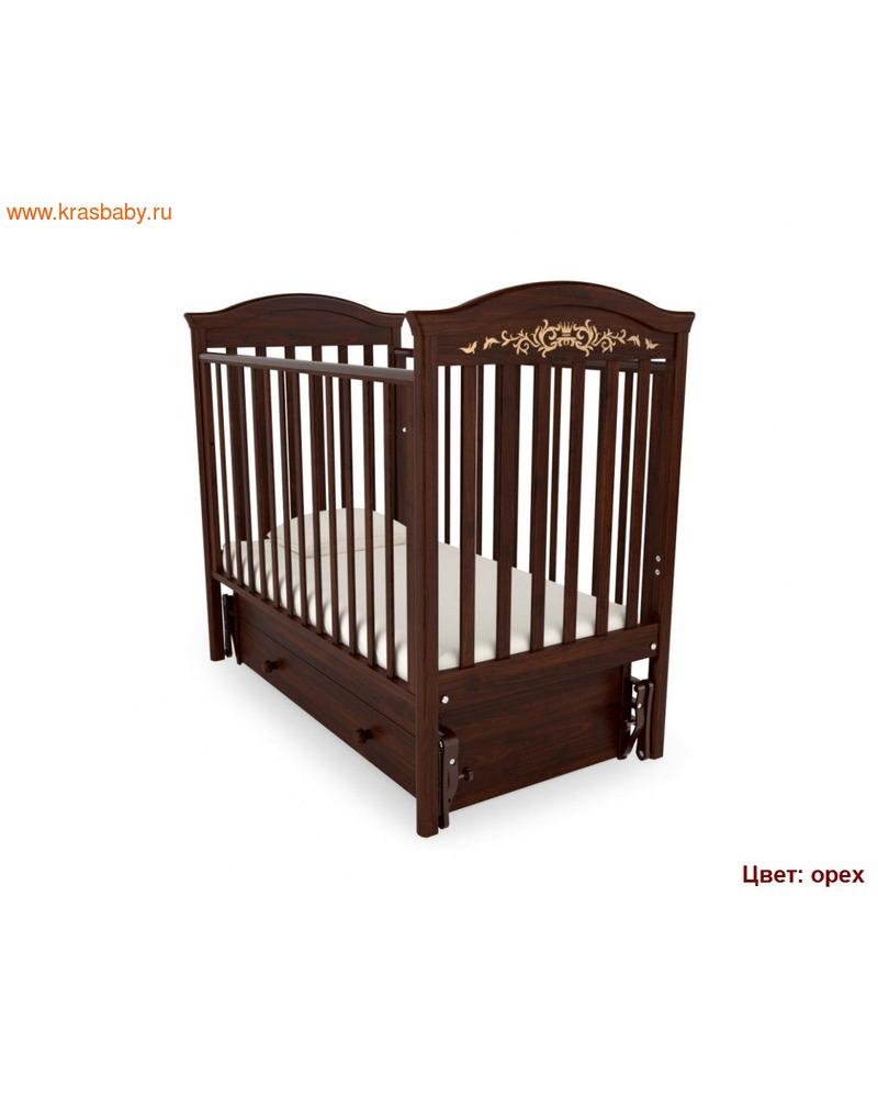Кроватка GANDYLYAN Даниэль Люкс (качалка) (фото, вид 12)