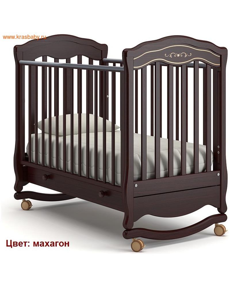 Кроватка GANDYLYAN Шарлотта Люкс (качалка) (фото, вид 11)