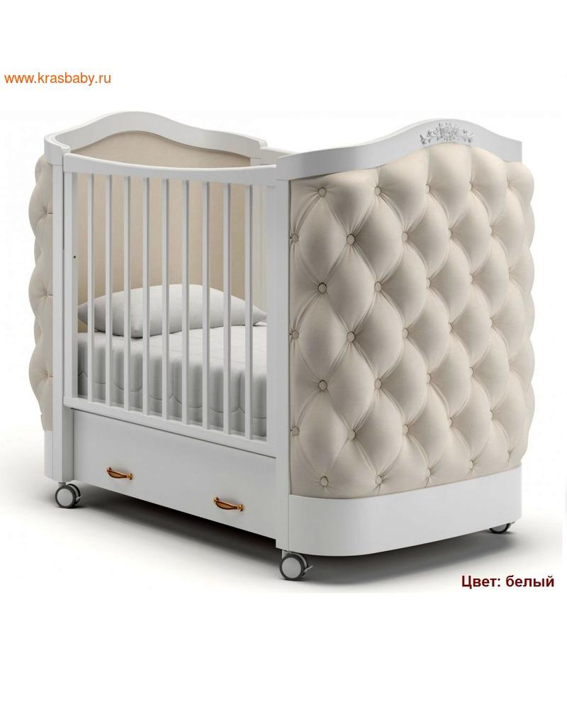 Кроватка GANDYLYAN Тиффани декор пуговицы (фото, вид 2)