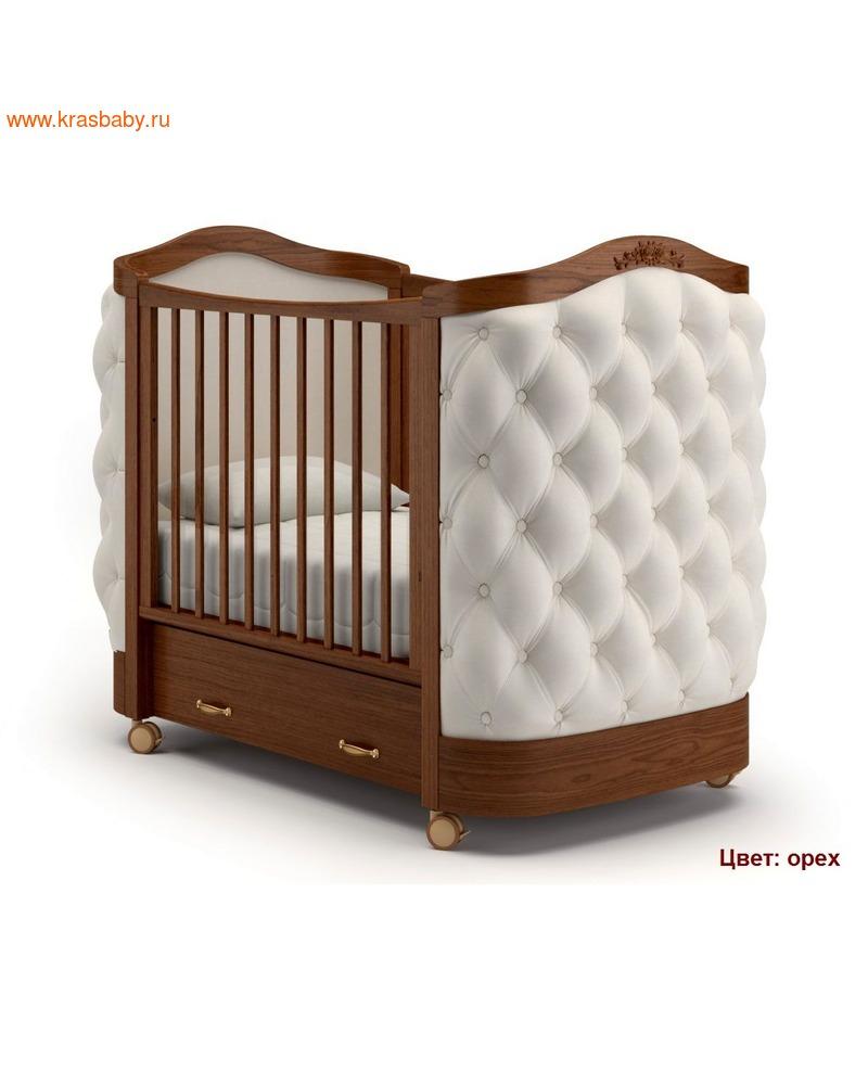 Кроватка GANDYLYAN Тиффани декор пуговицы (фото, вид 3)