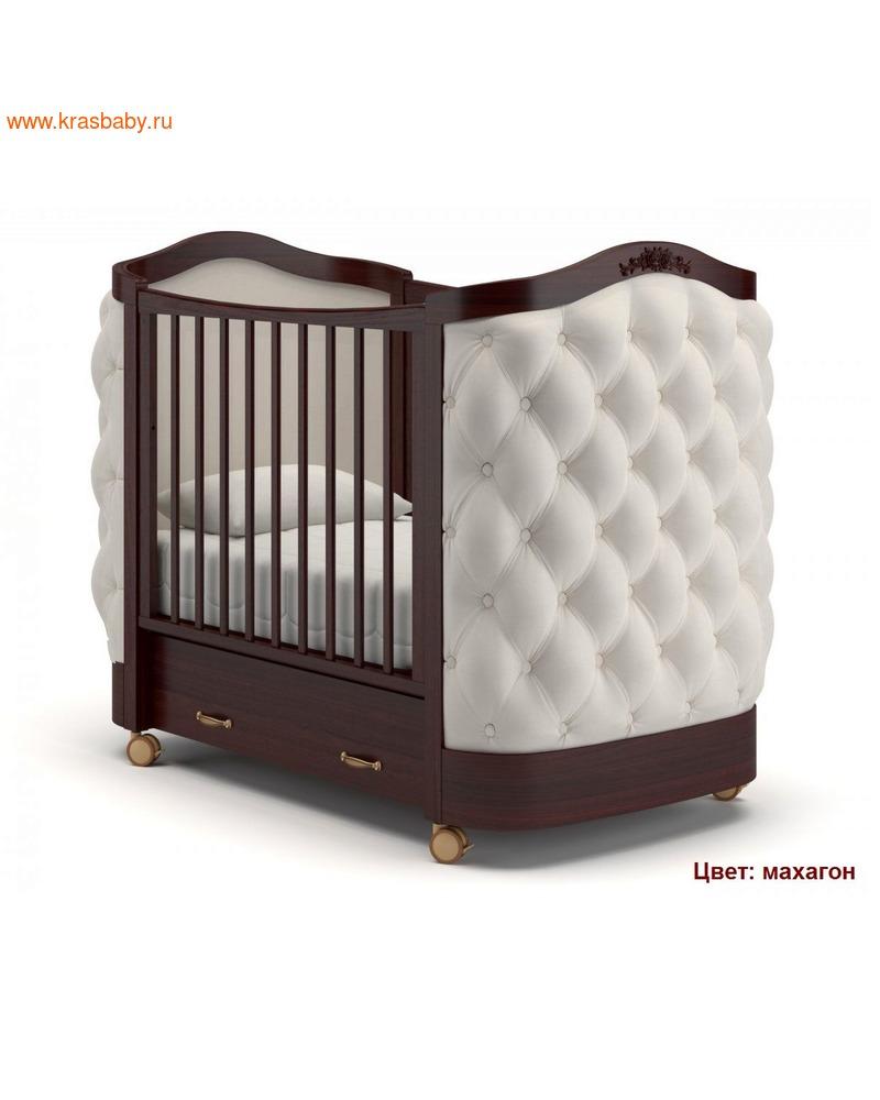 Кроватка GANDYLYAN Тиффани декор пуговицы (фото, вид 4)