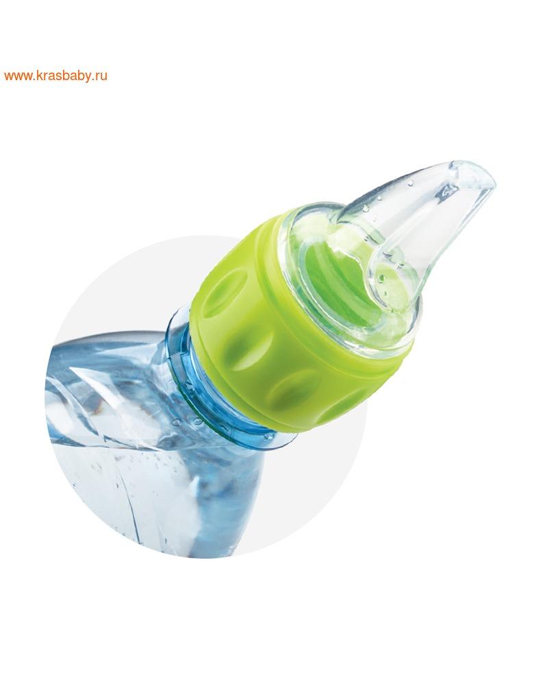 HAPPY BABY Соска-поильник для бутылок SILICONE SPOUT FOR BOTTLES (фото, вид 1)