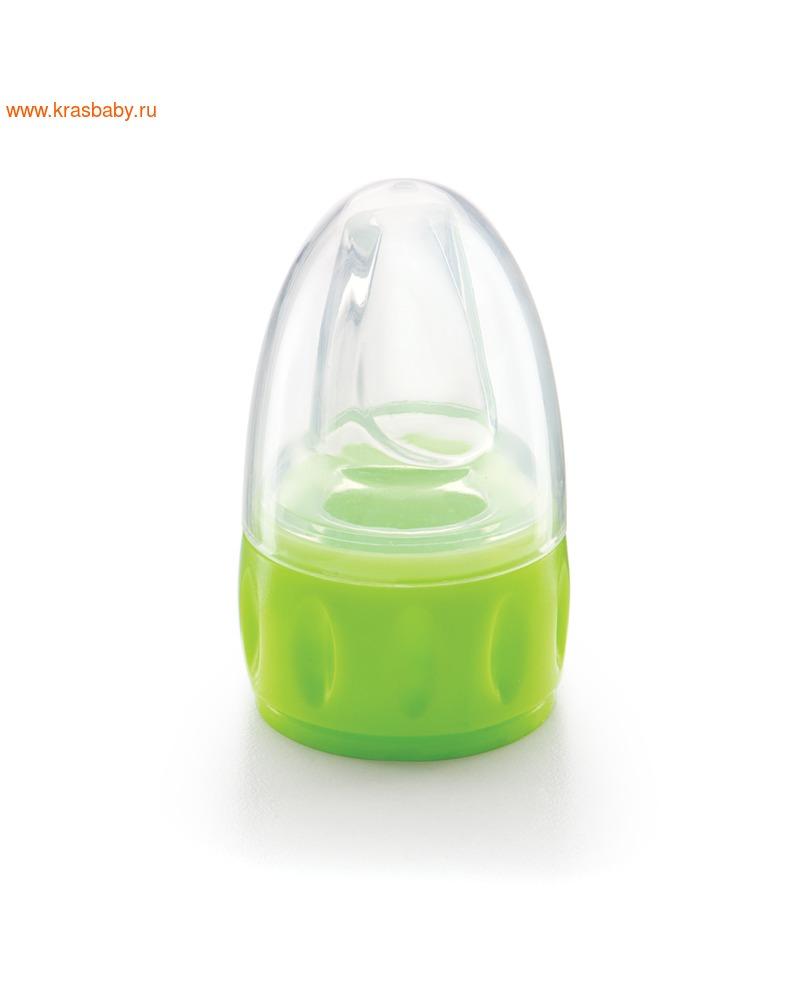 HAPPY BABY Соска-поильник для бутылок SILICONE SPOUT FOR BOTTLES (фото, вид 2)