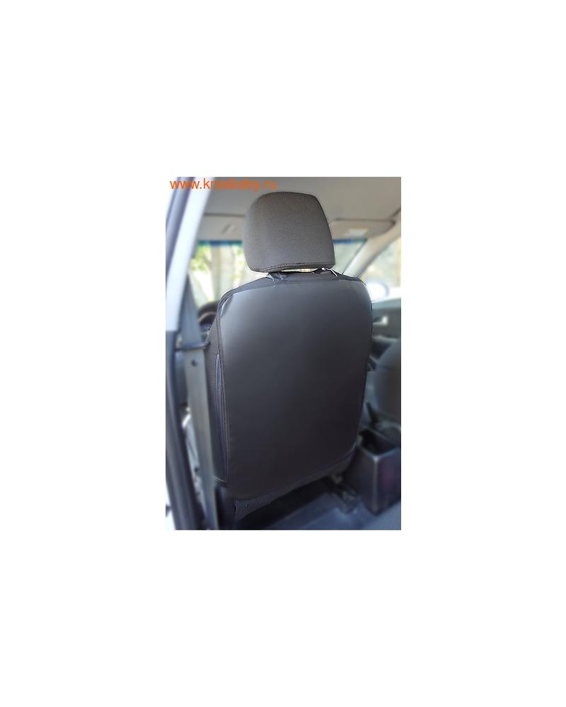 Protection Baby Защитная накидка на спинку переднего сиденья (эко-кожа) (фото, вид 5)