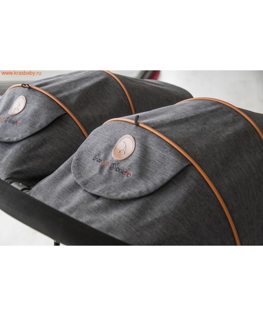 Коляска для двойни COLETTO Enzo (12,5кг) (фото, вид 21)