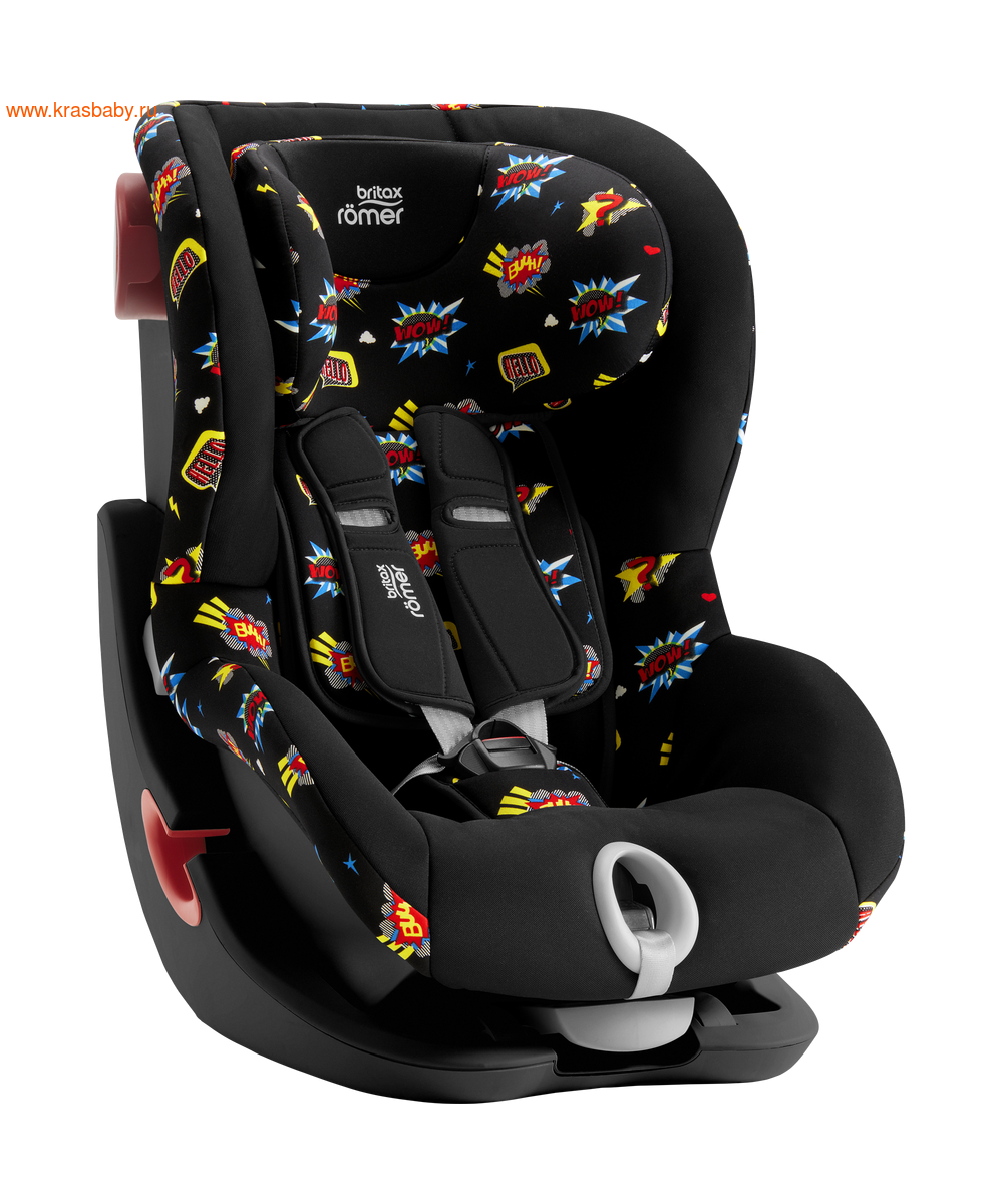 Автокресло BRITAX ROEMER KING II black series (9-18 кг) (фото, вид 2)