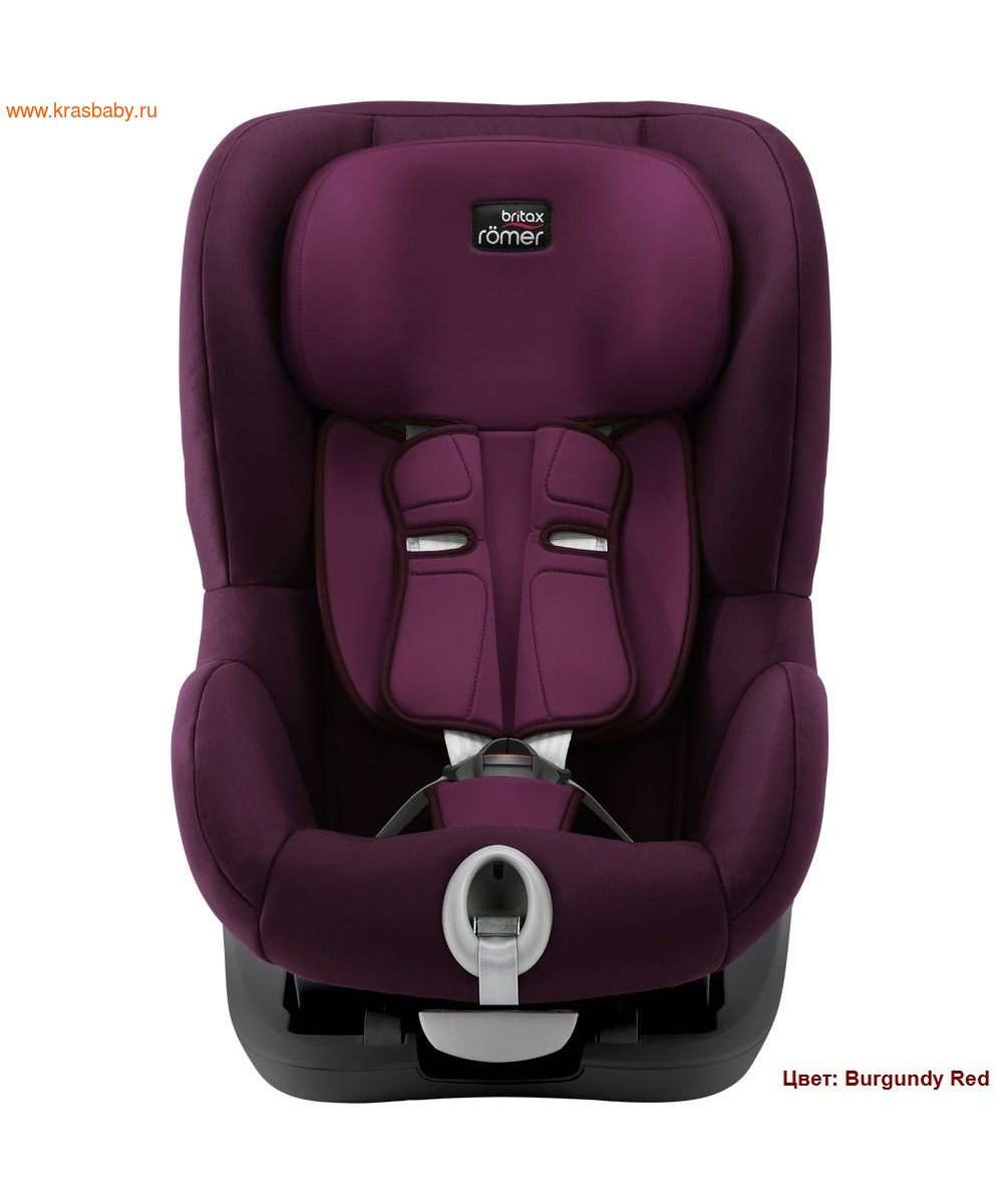Автокресло BRITAX ROEMER KING II black series (9-18 кг) (фото, вид 5)