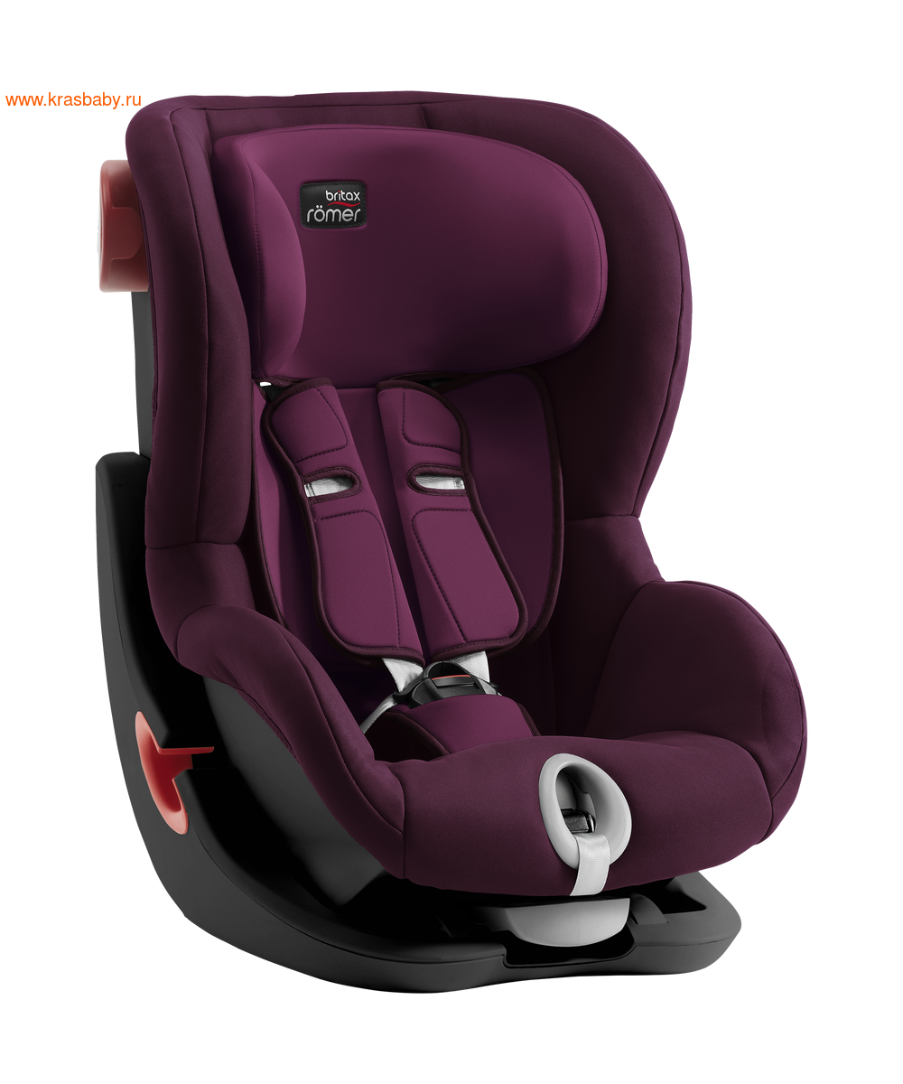 Автокресло BRITAX ROEMER KING II black series (9-18 кг) (фото, вид 6)