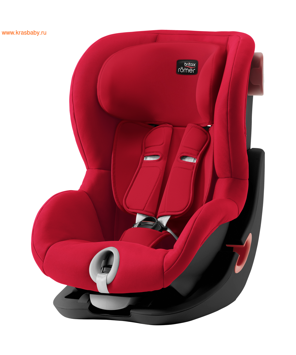 Автокресло BRITAX ROEMER KING II black series (9-18 кг) (фото, вид 8)