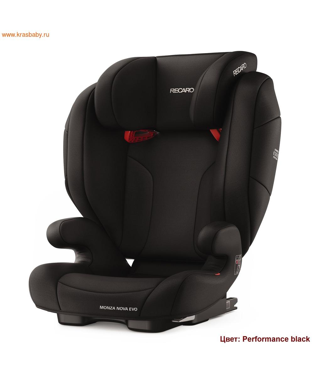 Автокресло RECARO Monza Nova EVO Seatfix (15-36 кг) (фото, вид 1)