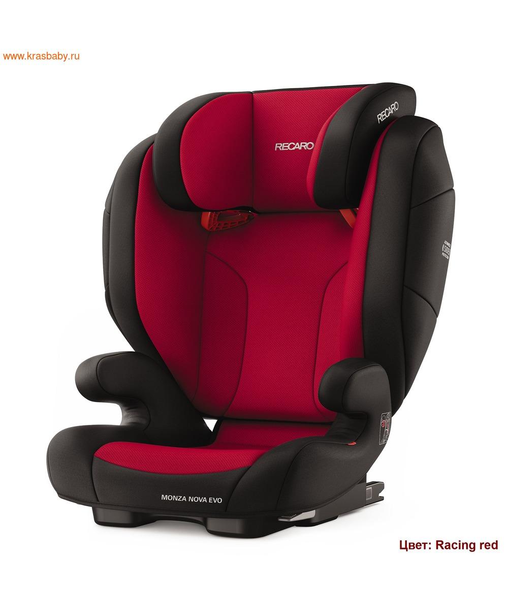 Автокресло RECARO Monza Nova EVO Seatfix (15-36 кг) (фото, вид 2)