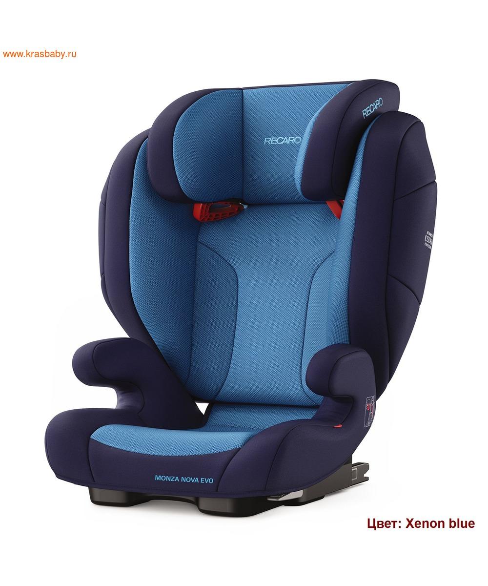 Автокресло RECARO Monza Nova EVO Seatfix (15-36 кг) (фото, вид 3)