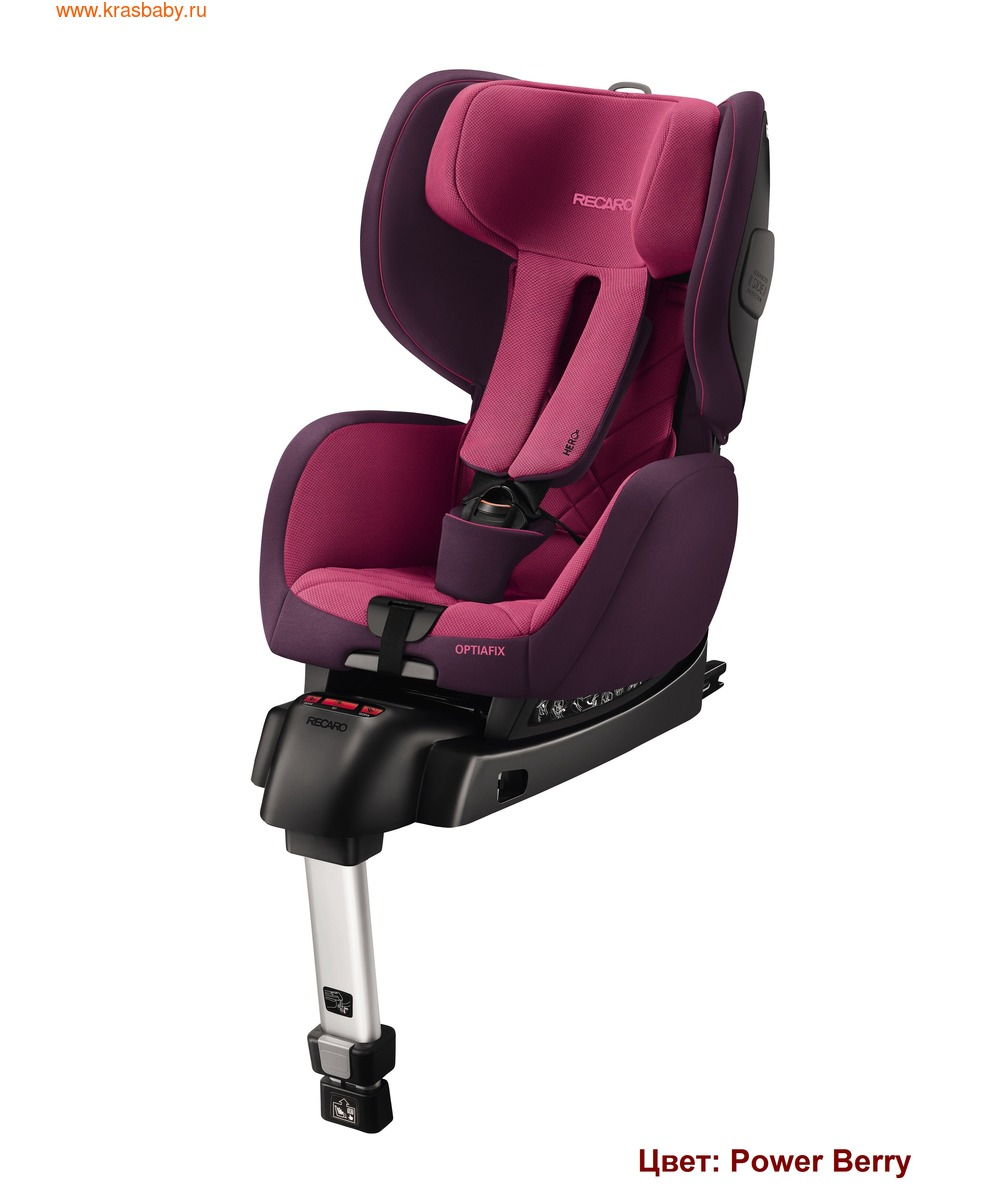Автокресло RECARO OptiaFix (9-18 кг) (фото, вид 6)