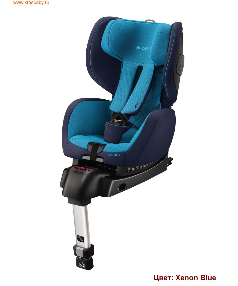 Автокресло RECARO OptiaFix (9-18 кг) (фото, вид 7)
