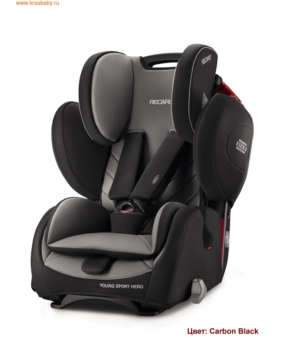Автокресло RECARO Young Sport Hero (9-36 кг) (фото, вид 11)