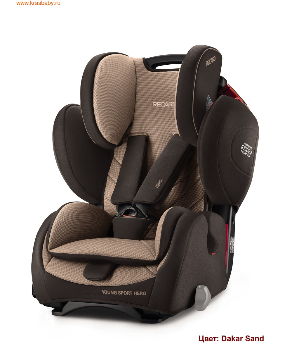 Автокресло RECARO Young Sport Hero (9-36 кг) (фото, вид 13)