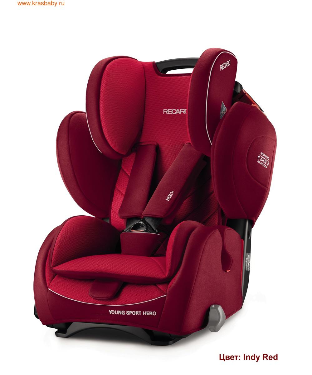 Автокресло RECARO Young Sport Hero (9-36 кг) (фото, вид 14)