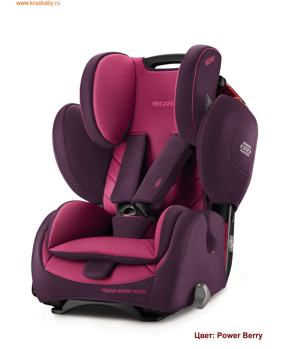 Автокресло RECARO Young Sport Hero (9-36 кг) (фото, вид 16)