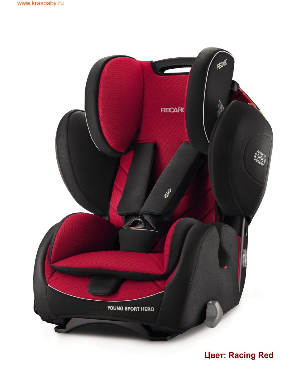 Автокресло RECARO Young Sport Hero (9-36 кг) (фото, вид 12)