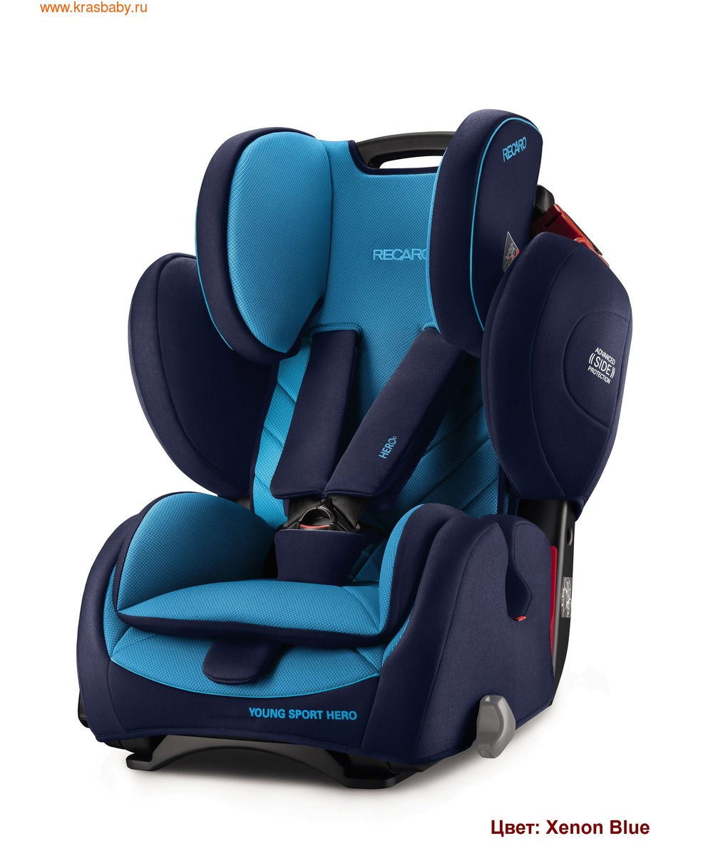 Автокресло RECARO Young Sport Hero (9-36 кг) (фото, вид 17)