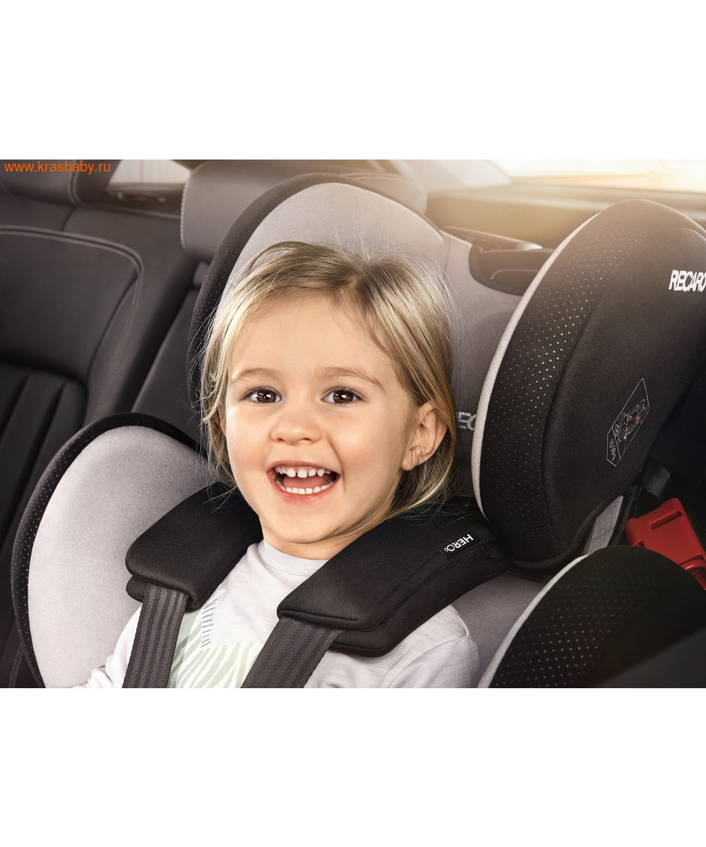 Автокресло RECARO Young Sport Hero (9-36 кг) (фото, вид 23)