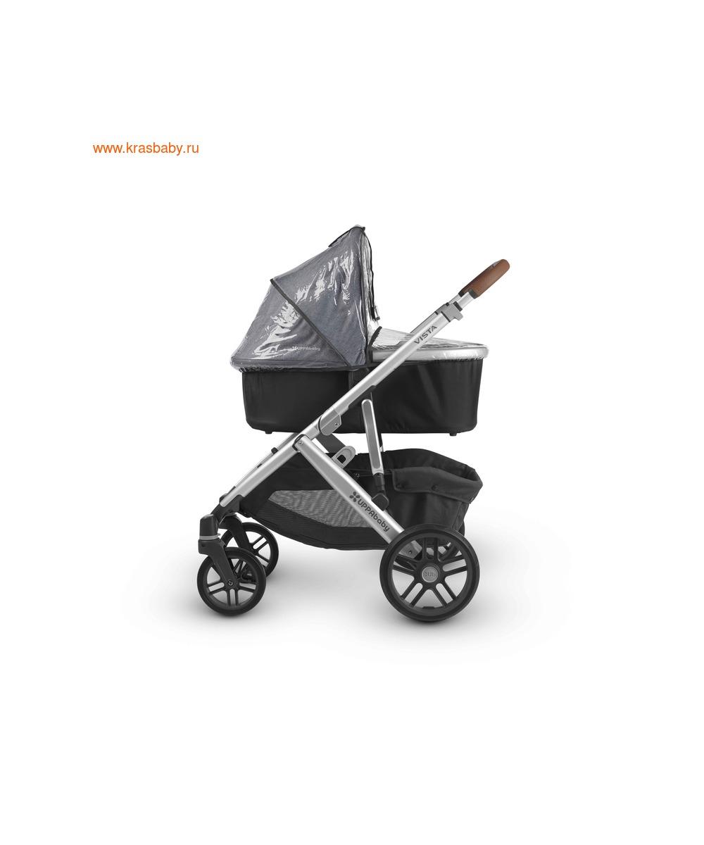 UPPAbaby Люлька для коляски Cruz и Vista 2018 JAKE (Black) (фото, вид 2)