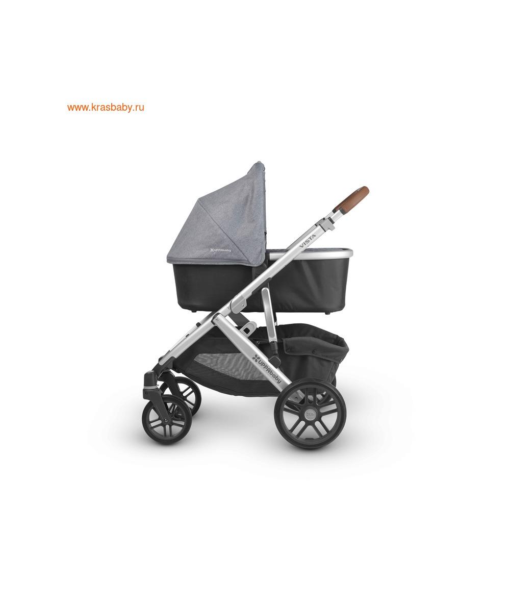 UPPAbaby Люлька для коляски Cruz и Vista 2018 JAKE (Black) (фото, вид 4)