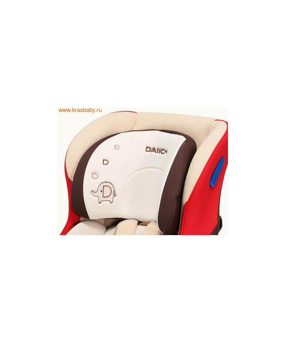 Автокресло DAIICHI DualWell Season 2™ Organic Red (0-18 кг) (фото, вид 8)