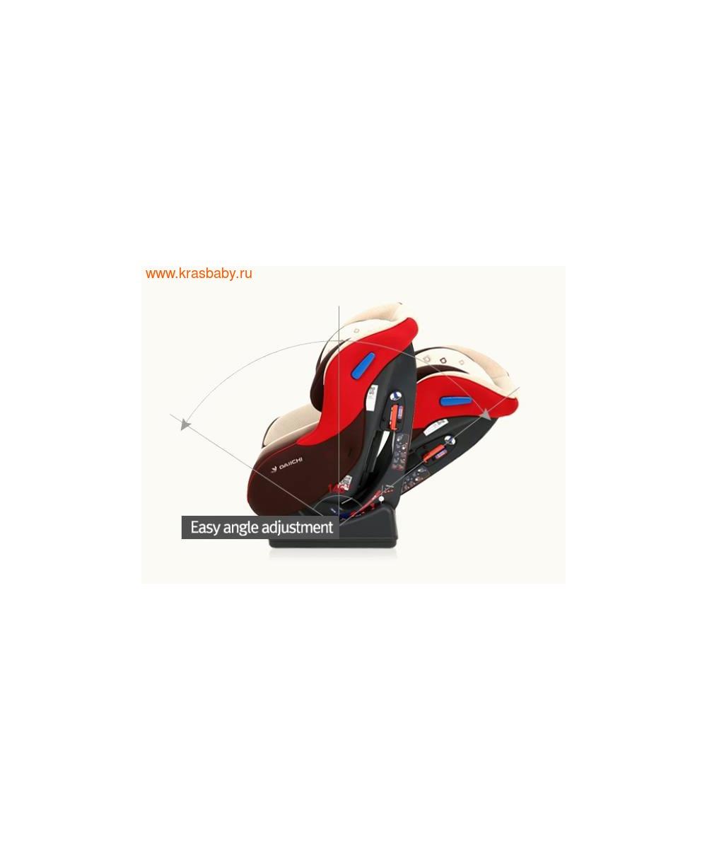 Автокресло DAIICHI DualWell Season 2™ Organic Red (0-18 кг) (фото, вид 9)
