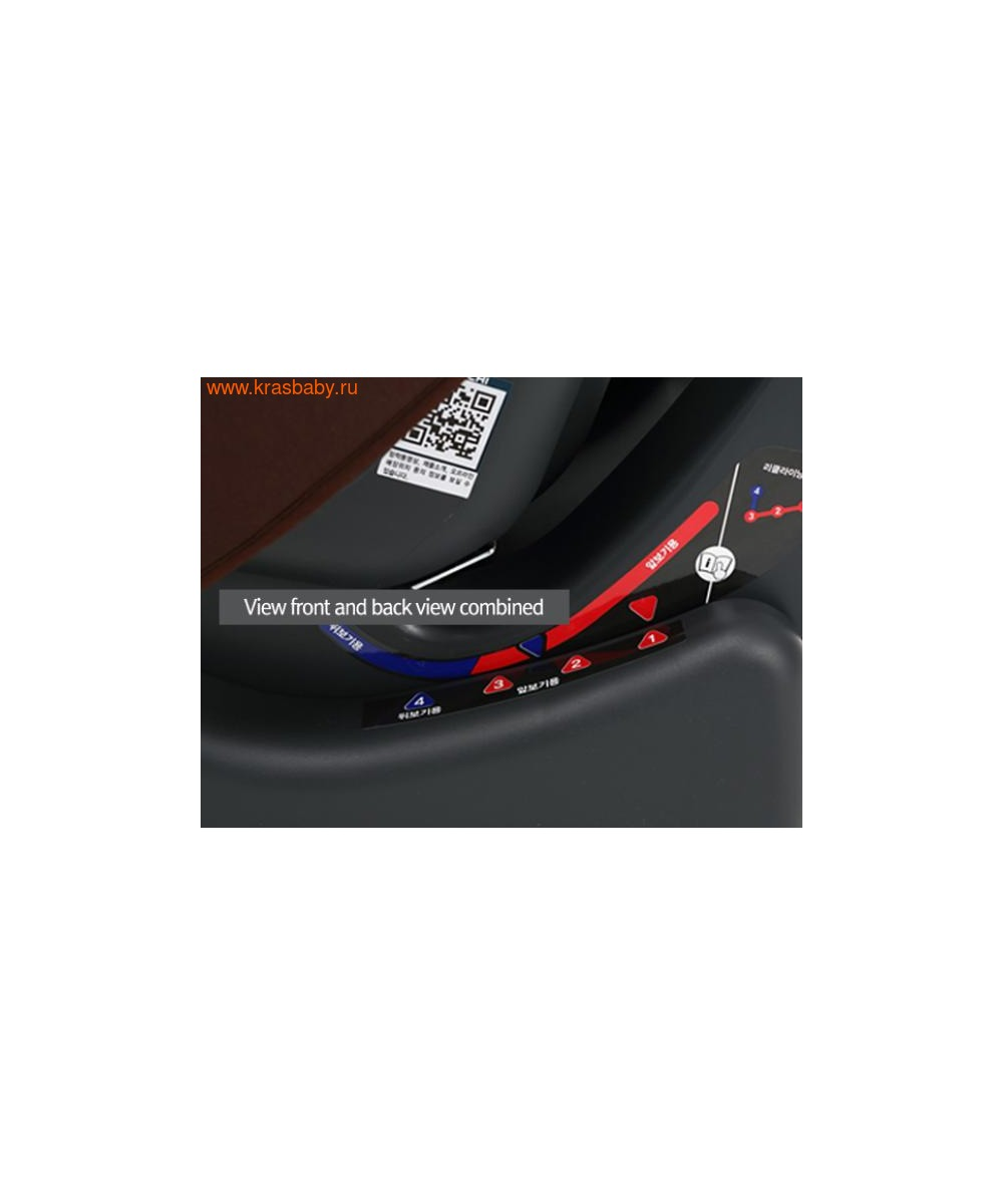 Автокресло DAIICHI DualWell Season 2™ Organic Red (0-18 кг) (фото, вид 11)