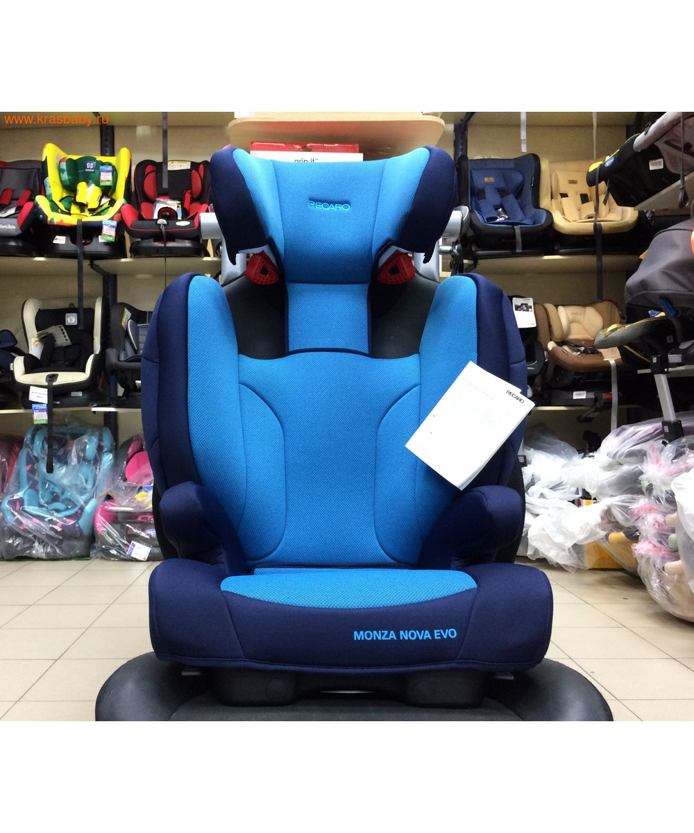 Автокресло RECARO Monza Nova EVO Seatfix (15-36 кг) (фото, вид 12)