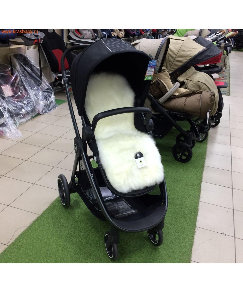 Шкура овечья BOZZ для колясок, санок, автокресел (фото, вид 4)