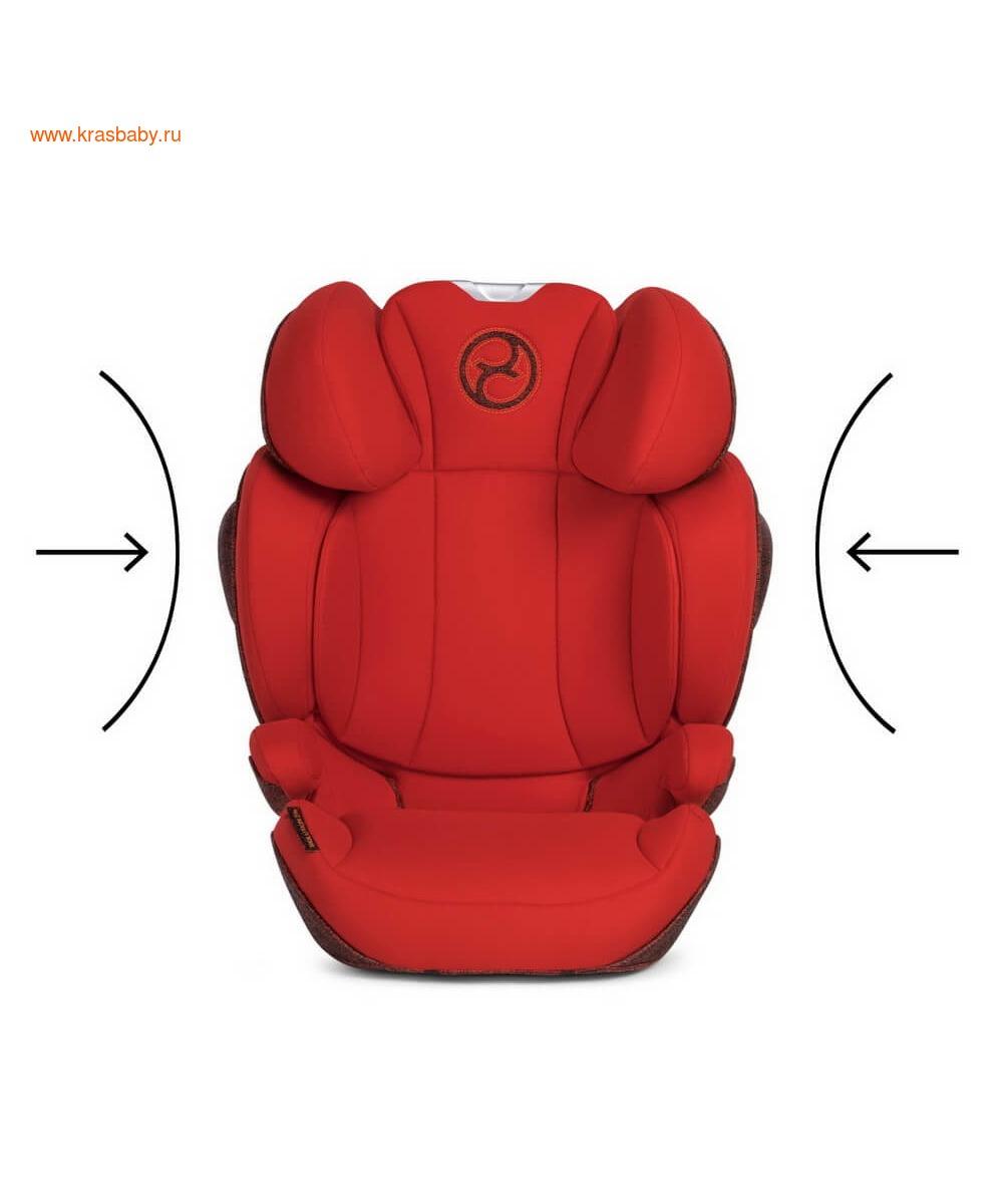 Автокресло CYBEX Solution Z-Fix Ferrari (15-36 кг) (фото, вид 23)